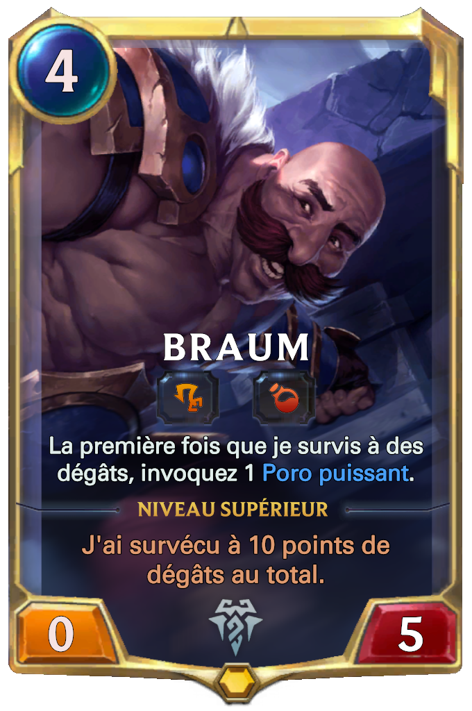 Braum Card