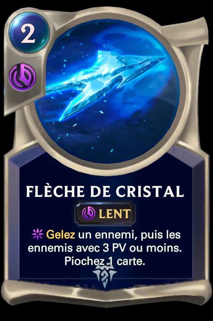 Crystal Arrow Card