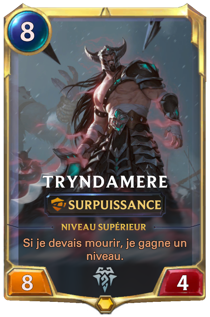 Tryndamere Card