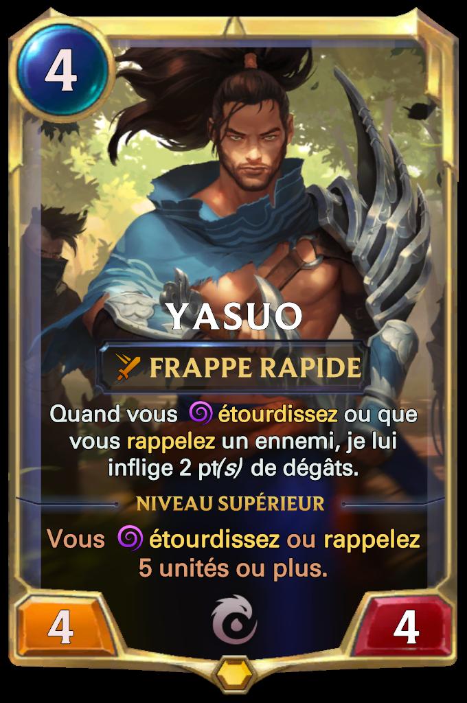 Yasuo Card