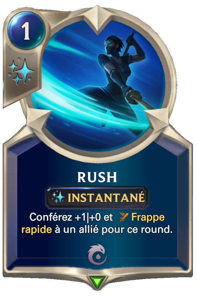 Legends of Runeterra Rush Card