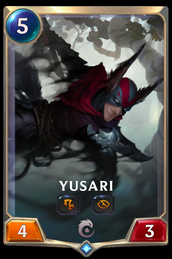 Legends of Runeterra Yusari Card