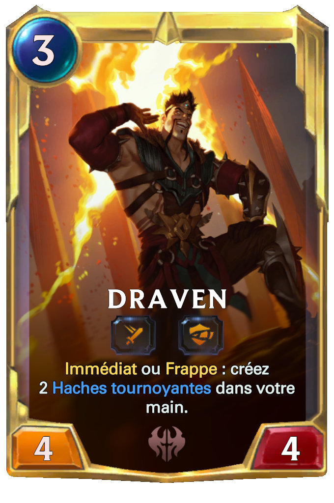 Legends of Runeterra Draven Card
