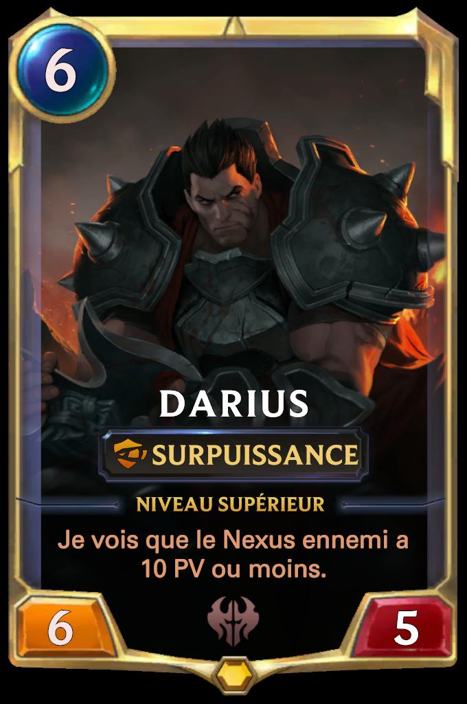 Darius Card
