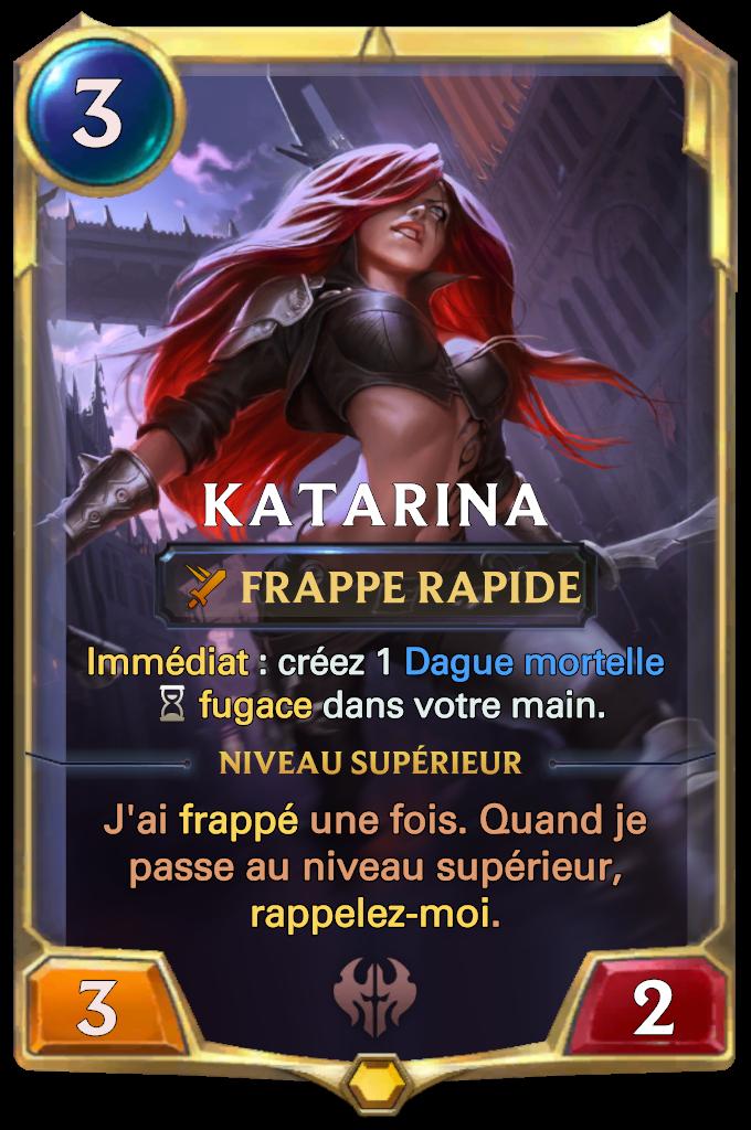 Legends of Runeterra Katarina Card