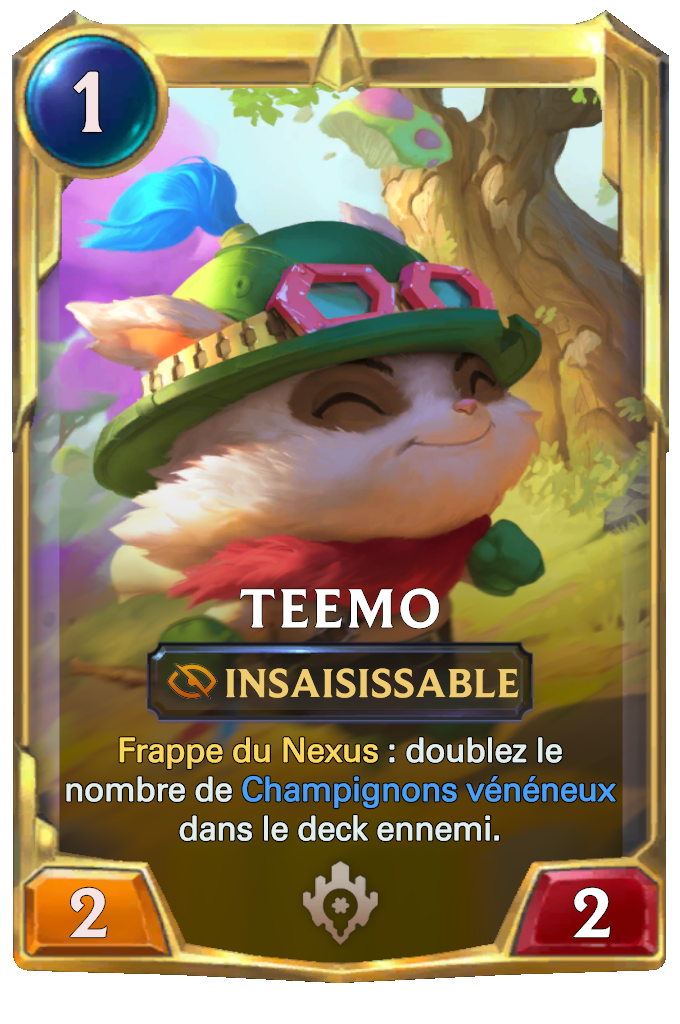Legends of Runeterra Teemo Card