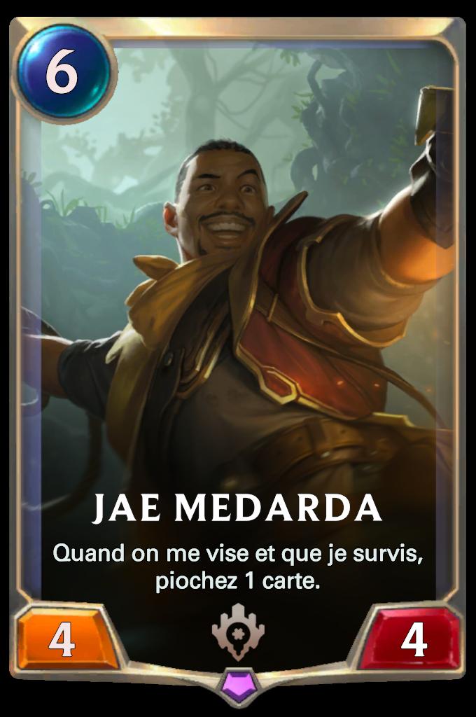 Legends of Runeterra Jae Medarda Card