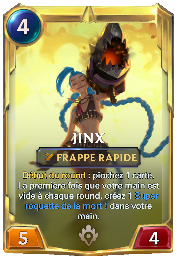 Legends of Runeterra Jinx Card