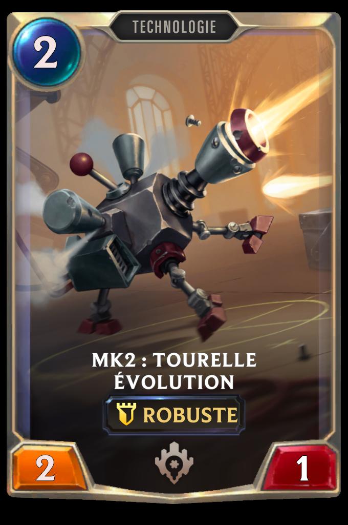 Mk2: Evolution Turret Card