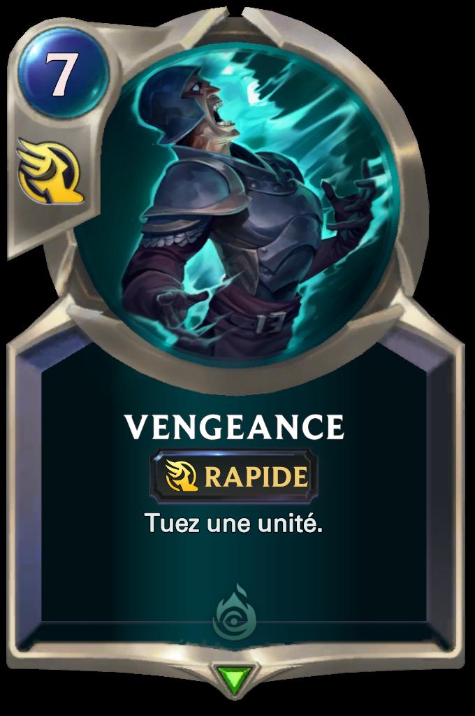 Legends of Runeterra Vengeance Card