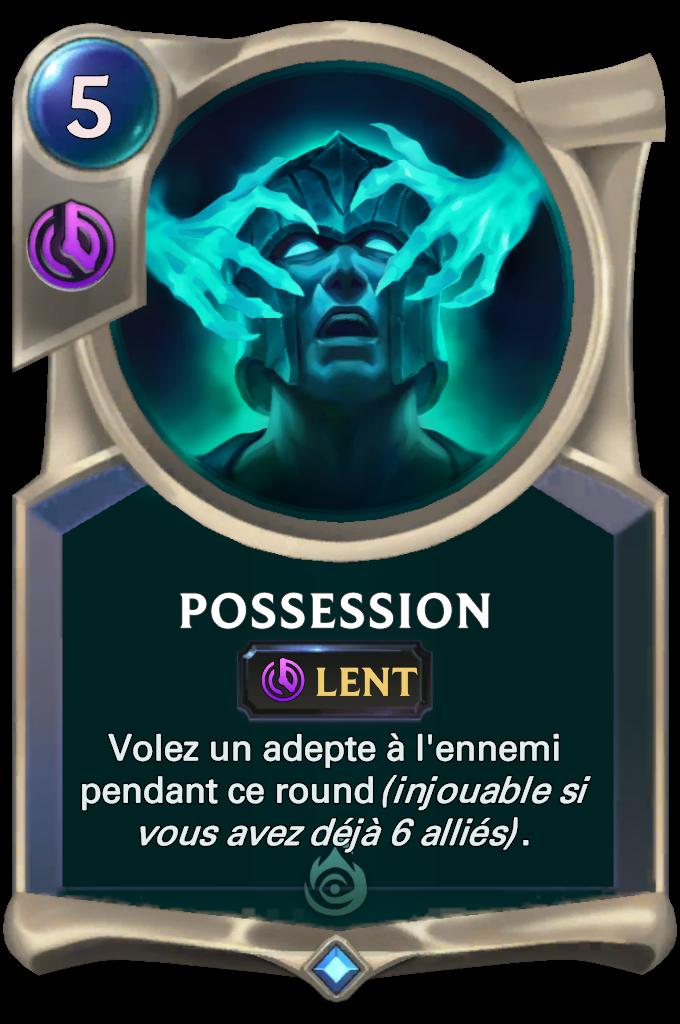 Legends of Runeterra Possession Card