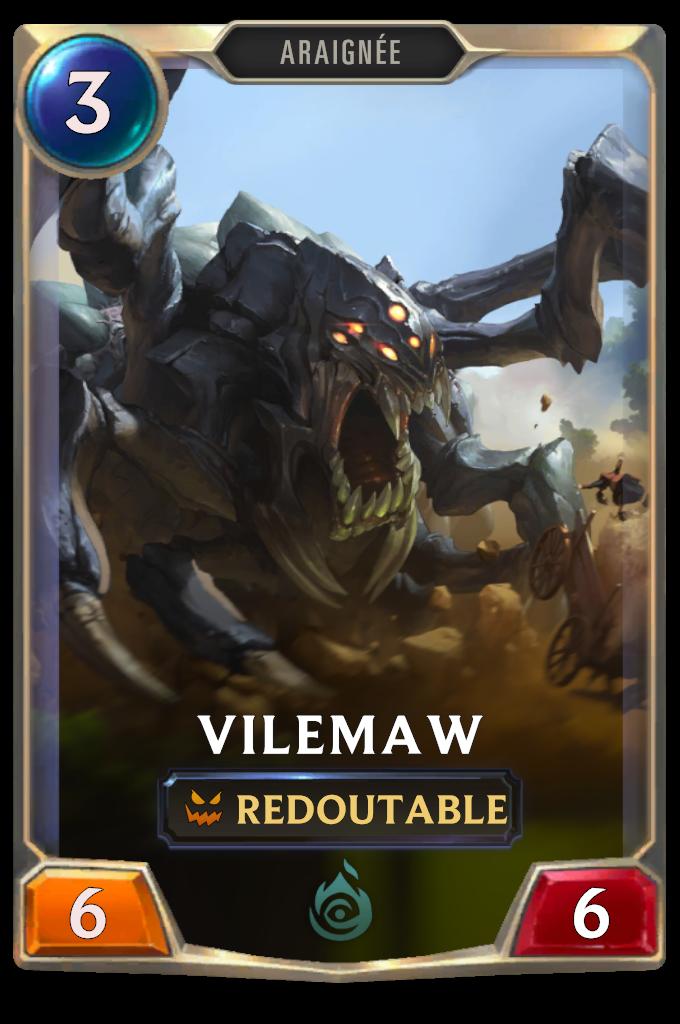 Legends of Runeterra Vilemaw Card
