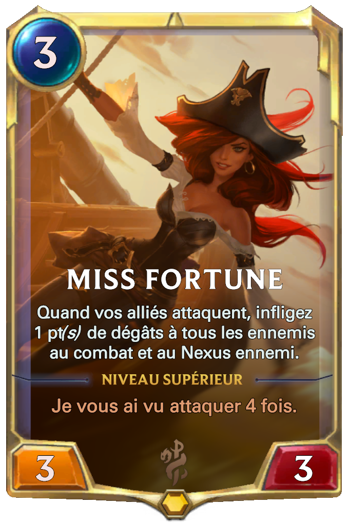 Miss Fortune Card