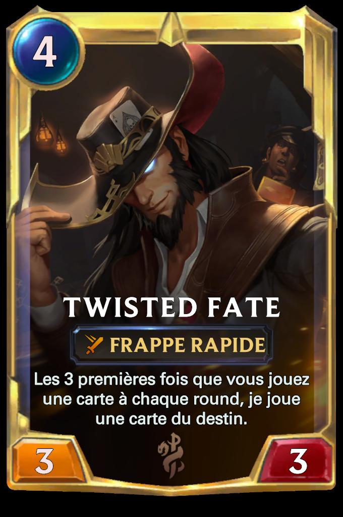 Legends of Runeterra Twisted Fate Card