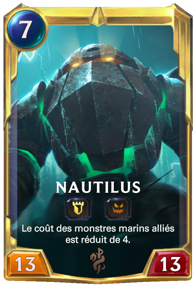 Legends of Runeterra Nautilus Card