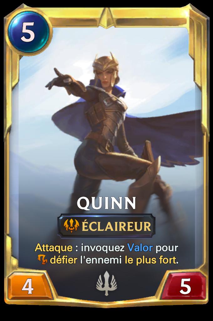 Legends of Runeterra Quinn Card