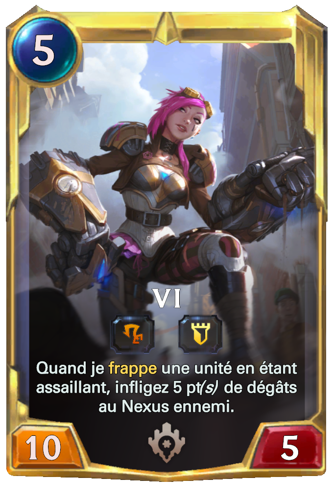 Legends of Runeterra Vi Card