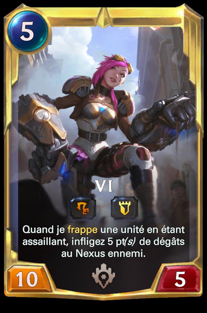 Legends of Runeterra Vi Card