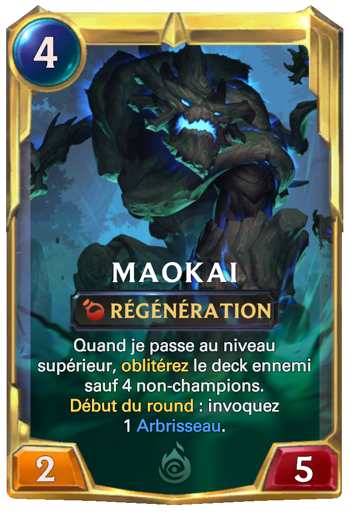 Legends of Runeterra Maokai Card