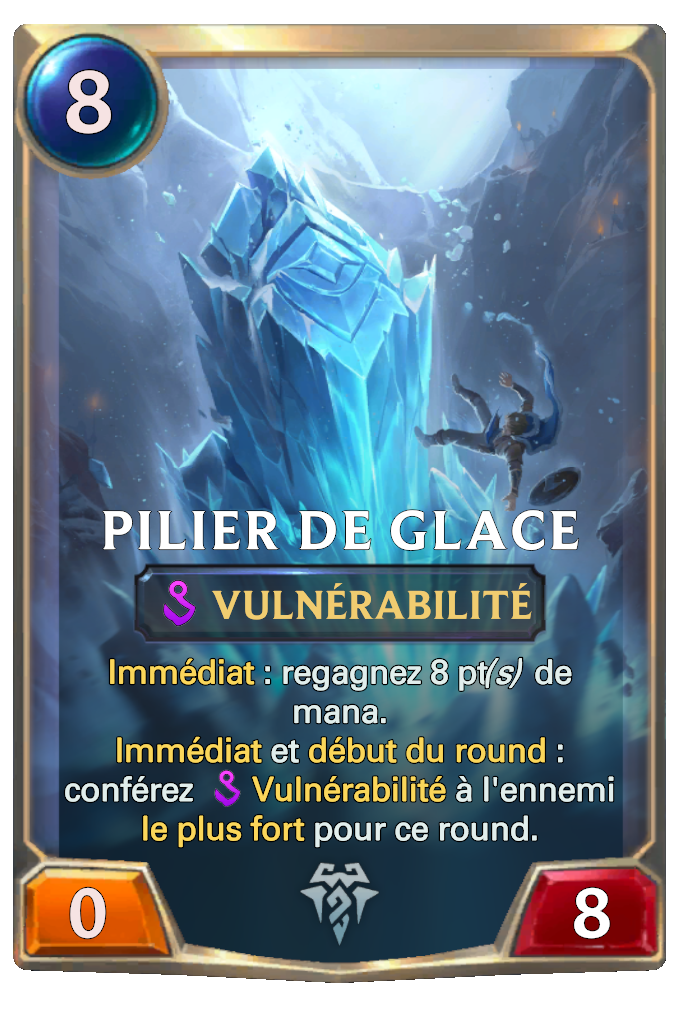Ice Pillar Card