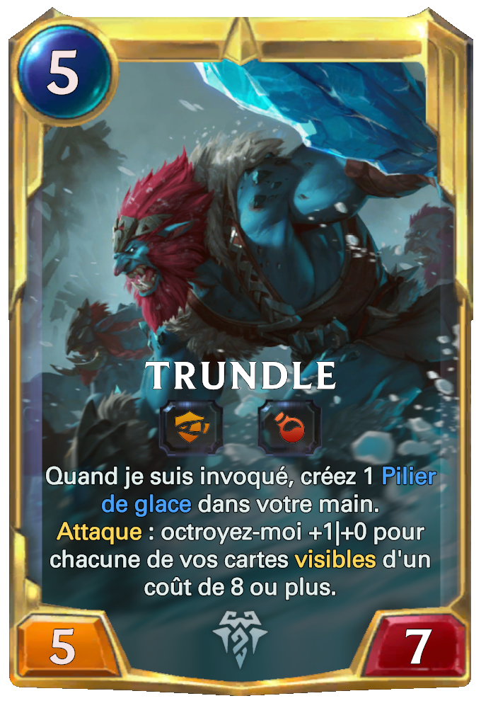 Legends of Runeterra Trundle Card