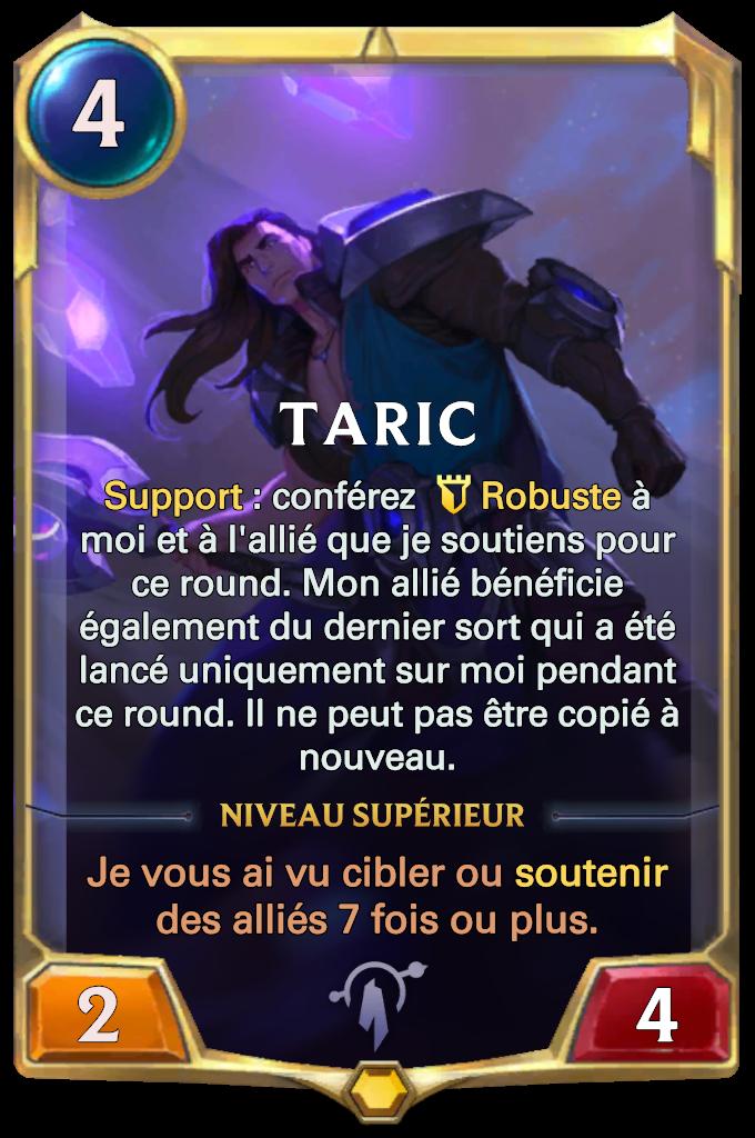 Taric Card