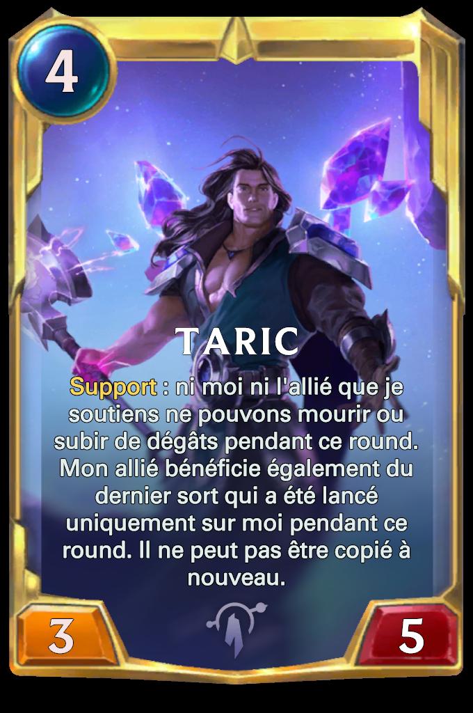 Legends of Runeterra Taric Card