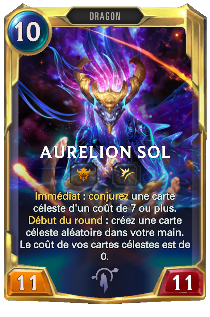 Legends of Runeterra Aurelion Sol Card