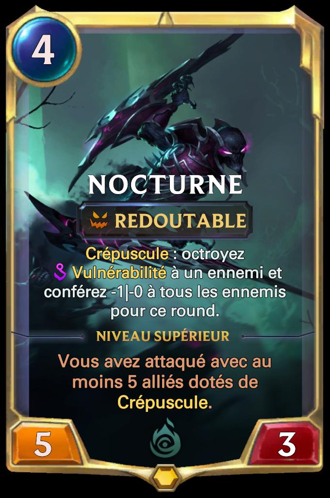 Nocturne Card